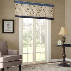 Serene Embroidered Window Valance