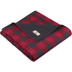 Woolrich Check Quilted Throw