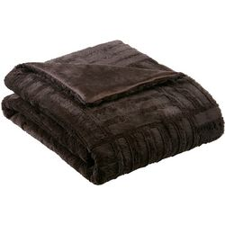 Madison Park Arctic Plush Down Alternative Throw