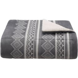 Woolrich Anderson Print Mink Down Alternative Throw