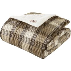 Woolrich Lumberjack Down Alternative Throw