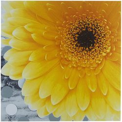 Intelligent Design Vibrant Yellow Canvas Wall Art