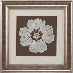 Harbor House Embroidered Floral Decorative Wall Art