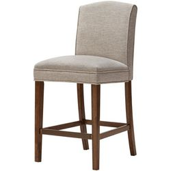 Madison Park Amory Cream Bar Stool