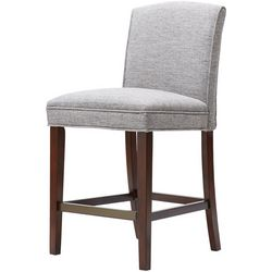 Madison Park Amory Grey Bar Stool
