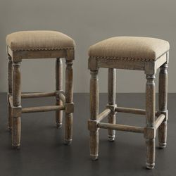 Madison Park Wells 2-pc. Sand Bar Stool Set