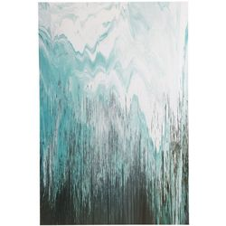 Ink & Ivy Abstract Chevron Canvas Wall Art
