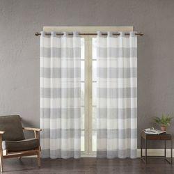 Urban Habitat Mason Yarn Dyed Curtain Panel