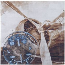 Ink + Ivy History Of Aviation II Canvas Wall Art