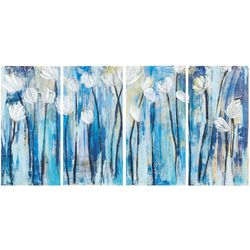 Ink + Ivy Ocean Breeze Bottom 4-pc. Canvas Wall Art