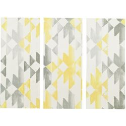 Ink & Ivy Yellow Sierra 3-pc. Canvas Wall Art