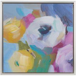 Madison Park Nosegay Bouquet Framed Canvas Wall Art