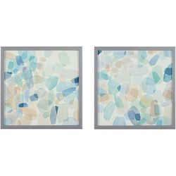 Intelligent Design Gemstone Tiles 2-pc. Framed Wall Art