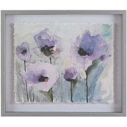Madison Park Lilac Blooming Spring Framed Wall Art