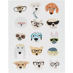 Intelligent Design Hip Dog Wall Art