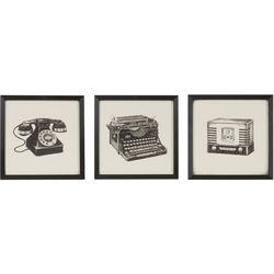 Intelligent Designs Vintage Models Framed Wall Art
