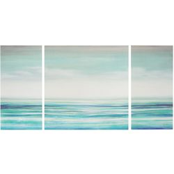 Madison Park Teal Tides 3-pc. Canvas Wall Art