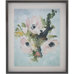 Madison Park Winter Bouquet I Framed Wall Art