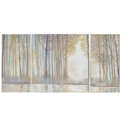 Madison Park Forest Reflections 3-pc. Wall Art Set
