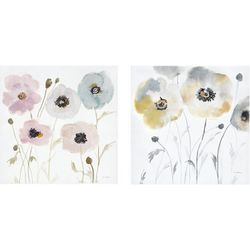 Madison Park Pastel Garden 2-pc. Wall Art Set