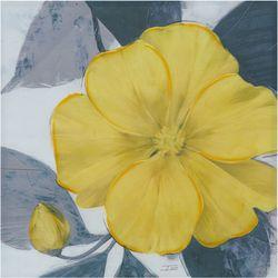Madison Park Yellow Bloom Canvas Wall Art
