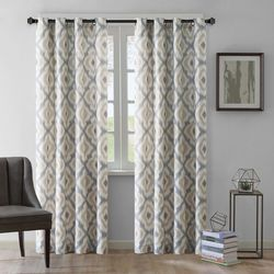 Ink & Ivy Ankara Cotton Printed Panel Window Curtain
