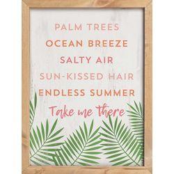 P. Graham Dunn Palm Trees Framed Wall Art