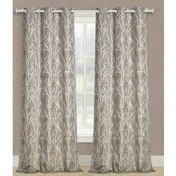 United Curtain Taylor Window Panel Pair