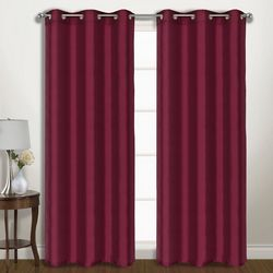 United Curtain Vintage Window Panel Pair