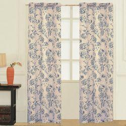 United Curtain Fiona Window Panel Pair