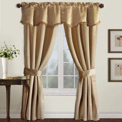 United Curtain Burlington 5-pc. Curtain Set