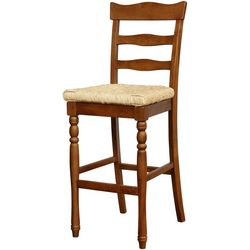 Linon Kinsey Bar Height Stool