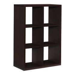 Linon Conrad 6 Cubby Storage Cabinet