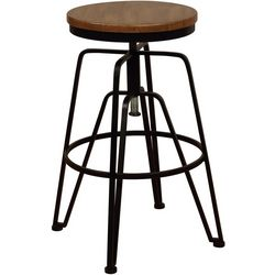 Linon Averill Adjustable Stool