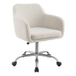 Linon Elwood Sherpa Office Chair