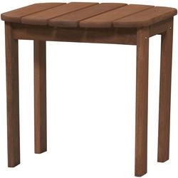 Rockville Teak Finish Adirondack End Table