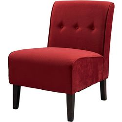 Linon Bristol Red Accent Chair