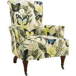 Linon Lyndon Arm Chair