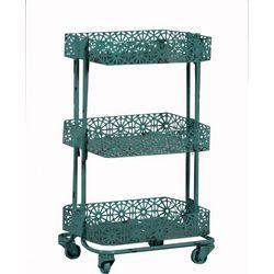 Linon Weston Metal Three Tier Cart