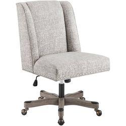 Linon Durman Silver Office Chair