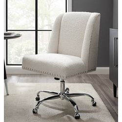 Linon Durman Sherpa Office Chair