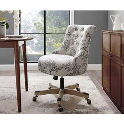 Linon Dawson Floral Office Chair