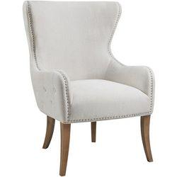 Linon Eden Natural Round Back Chair