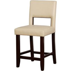 Linon Ara Camel Counter Height Bar Stool