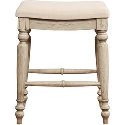 Linon Arly Backless Counter Height Stool