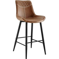 Linon Adams Bar Height Bar Stool