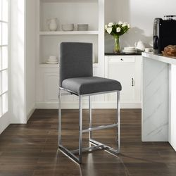 Linon Bryce Bar Height Bar Stool