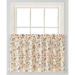 Saturday Knight Aviary Tier Curtain Panel Set