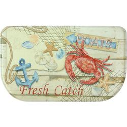 Bacova Catch of the Day Memory Foam Slice Mat