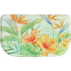 Bacova Tropical Flowers Memory Foam Slice Mat